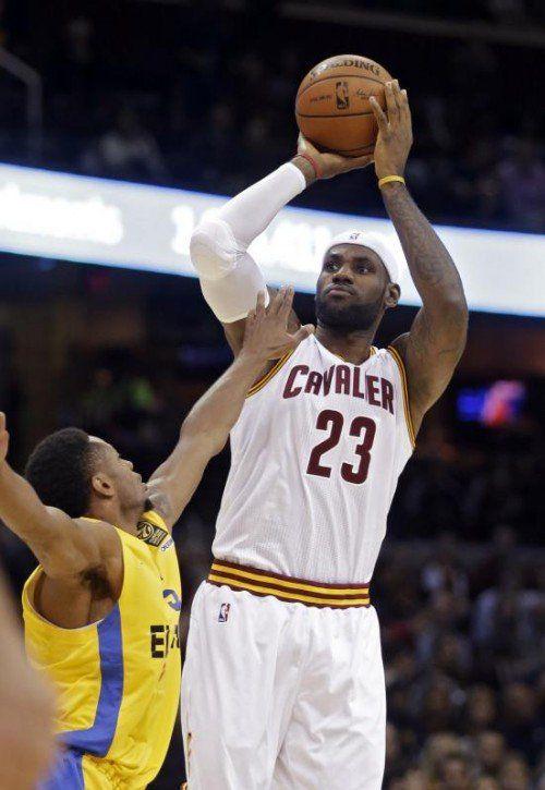 James will die Cavs erstmals zum Titel in der NBA führen.  Foto: AP
