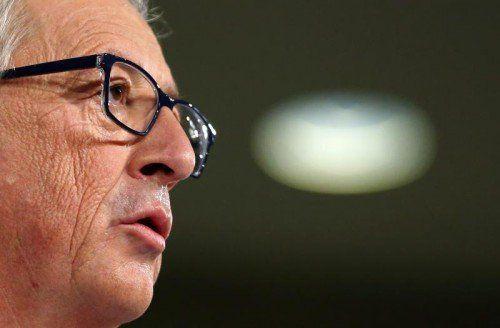 Jean-Claude Juncker hat ein Problem mit seinem Team.  REUTERS