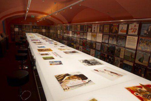 Jüdisches Museum widmet sich der Schallplatte und Musikern.