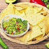 Guacamole zu den Tortillas