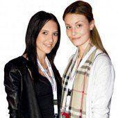 Lisa-Maria Fröwis (l.) und Ramona Netzer (Russmedia).