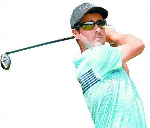 Manuel Trappel stand bei 19 Turnieren auf dem Golfplatz, spielte insgesamt 54 Runden. Foto: gepa