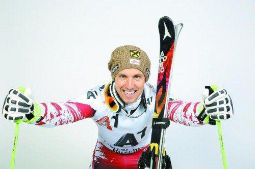"""Marcel Hirscher ist bereit für den Saisonauftakt: """"Schaunen wir einmal, wo wir alle stehen."""" Foto: gepa"""