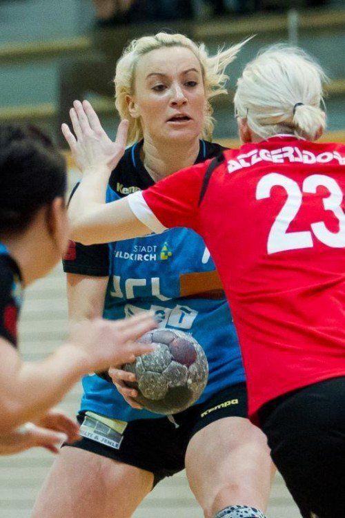 Martina Strmsek und Co. gastieren im Cup in Eferding. Foto: steurer