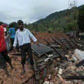 150 Tote nach Erdrutsch in Sri Lanka befürchtet
