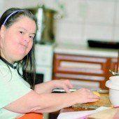 Wertvolle Angestellte mit Behinderung
