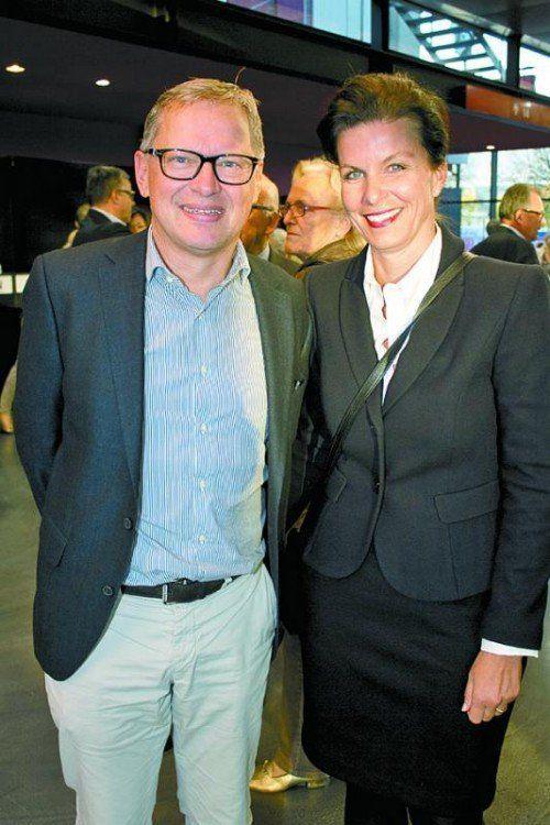 Michael Hollersbacher (WKO) mit Patricia.