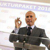 Klug will Sparkonzept unbedingt durchsetzen