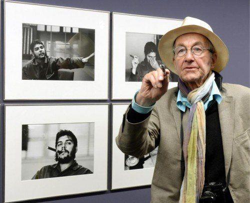 Mit den Porträts des Revolutionärs Che Guevara schaffte René Burri den internationalen Durchbruch. Foto: EPA