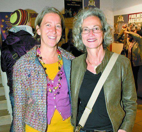 Monika Schalk (l.) und Christine Wohlgenannt.