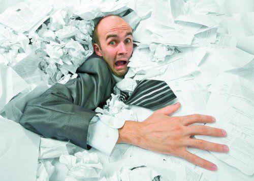 Muss wirklich das ganze Dokument ausgedruckt werden oder reichen ein paar Seiten?  Fotos: Shutterstock