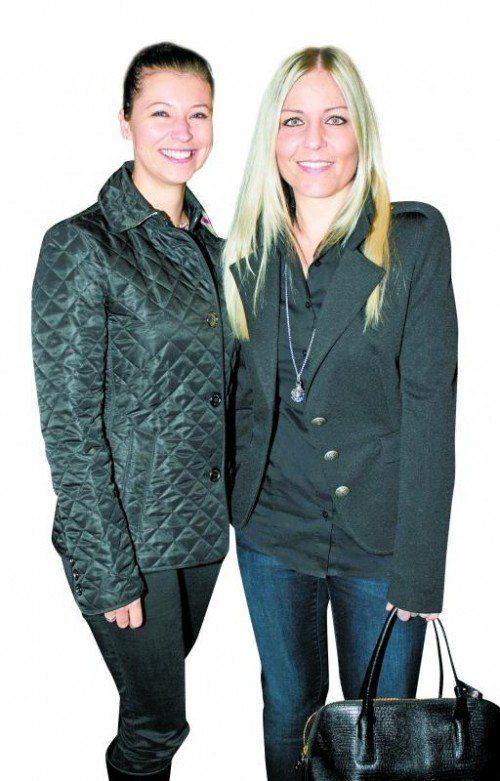 Nadja Rohner (VN) und Sabine Geser (Glatz Klischee). Franc