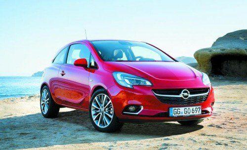 Opel Corsa: Die fünfte Generation tritt zur Fortsetzung einer 32-jährigen Erfolgsgeschichte an. Fotos: werk