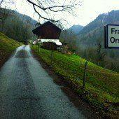 Bauprojekt für Kanalisation in Fraxner Ortsteil