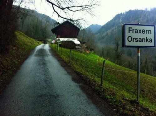 Orsanka wird an Fraxner Kanalnetz angeschlossen.  Foto: KAM