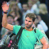 Rafael Nadal vor Operation am Blinddarm