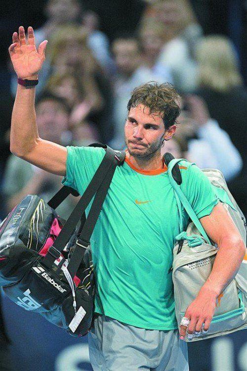 Pause vom Tennis, Rafael Nadal wird operiert. Foto: ap