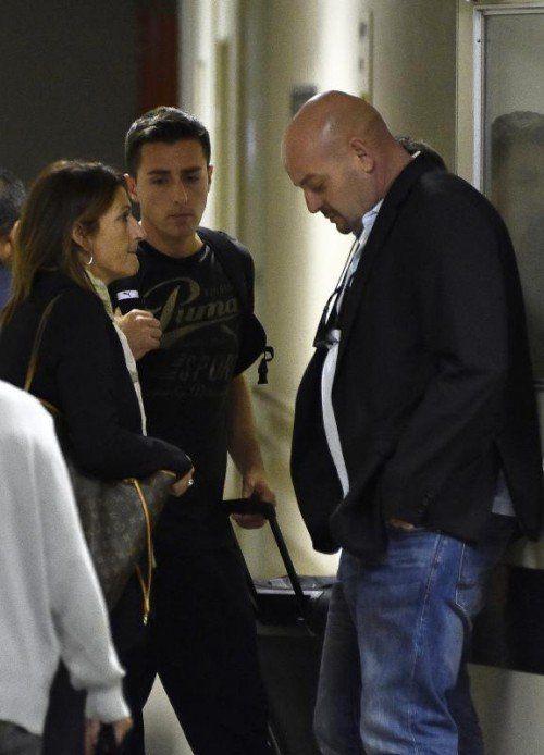 Philippe Bianchi (r.) mit Ehefrau Christine Bianchi. Foto: epa