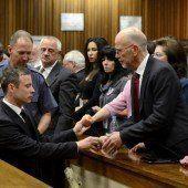 Oscar Pistorius zu fünf Jahren Haft verurteilt