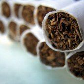 Radioaktive Zigaretten