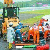 Drama um Bianchi überschattet das Rennen in Japan