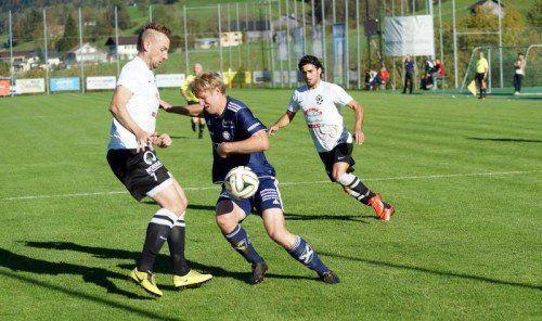 Rochus Schallert und seine Mannschaft zeigten gegen Leader Bregenz eine starke Leistung. Foto: berchtold