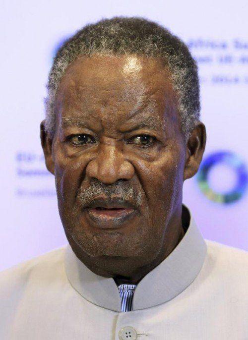 Sambias Präsident Michael Sata starb in London.  REUTERS