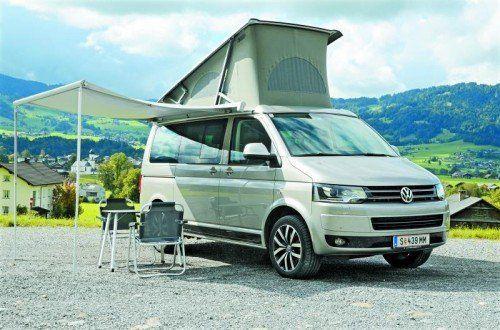 Schöner Wohnen auf vier Rädern: Abmessungen eines Maxi-Van, Wohnkomfort eines Reisemobils. Fotos: VN/Gasser