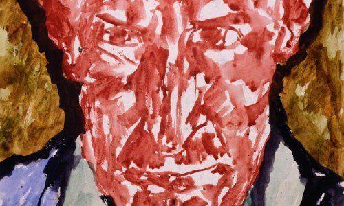 Selbstporträt des Künstlers Edmund Kalb (1900–1952).