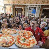 Zwei Millionen Unterschriften für Pizza als Weltkulturerbe