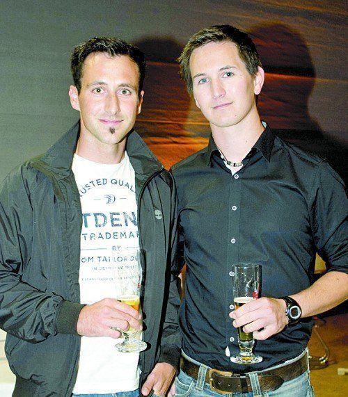 Simon Bickel (i+R IGB) und Dominik Künz (Baumanagement).
