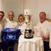 Lenz und Crew holen Meisterpokal