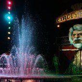 Wasserwelt im Zirkuszelt