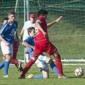 Klarer Sieg für den Tabellenführer der U-18-Liga, Gruppe 1