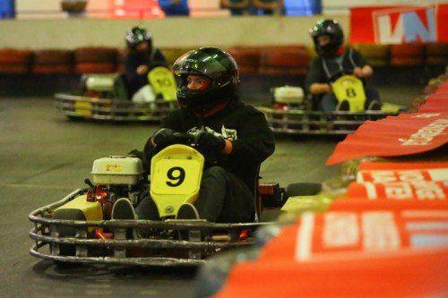 Sportlich geht's beim Charity Race zur Sache.  Foto: VN/Hofmeister