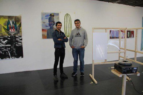 Taxio Ardanaz und Karlos Martinez B. zeigen ihre Arbeiten in der Galerie Lisi Hämmerle in Bregenz.  Foto: AG