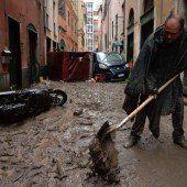 Genua kämpft mit Unwettern