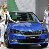 Neue Automodelle im Rampenlicht