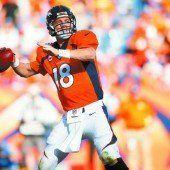 Manning und Brady mit zwei neuen Rekorden