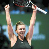 Halep fegte Serena Williams vom Platz