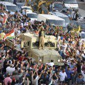 Rebellen helfen Kobane