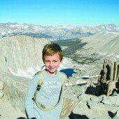 Zehnjähriger Bergsteiger hat hochfliegende Pläne