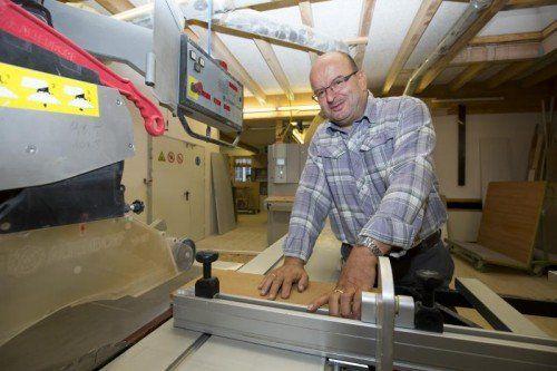 Ulrich Hagen baut auf gut ausgebildete Mitarbeiter und einen modernen Maschinenpark.