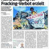 Hintertür bei Fracking-Verbot