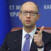 Jazenjuk will unbedingt Regierungschef bleiben