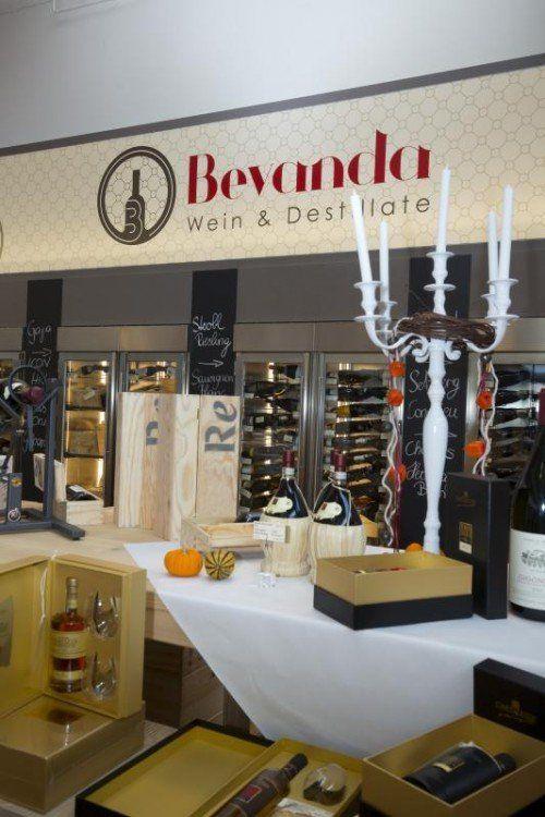 Wein und Spirituosen, ganz nach dem Gusto der Start-up-Unternehmer.