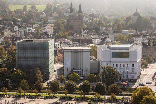 Rund elf Millionen Euro investiert das Land Vorarlberg in die Kulturhäuser, 61.000 Euro kommen von der Stadt Bregenz.VN/PS