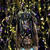 Hattrick von Williams beim WTA-Finale