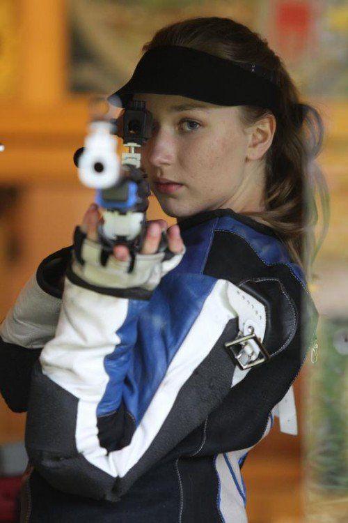 Verena Zaisberger gewann Gold, Silber und Bronze.
