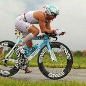 Triathlon-Show am Jannersee